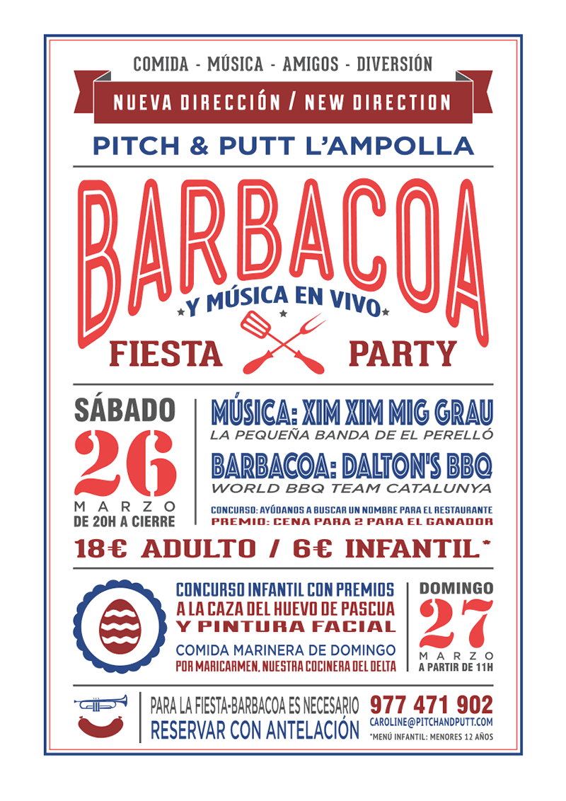 Pitch & Putt L'Ampolla - Cartel